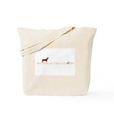 Vizsla on Chukar Tote Bag