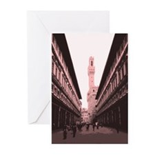 Piazza delgi Uffizi Greeting Cards (Pk of 10)