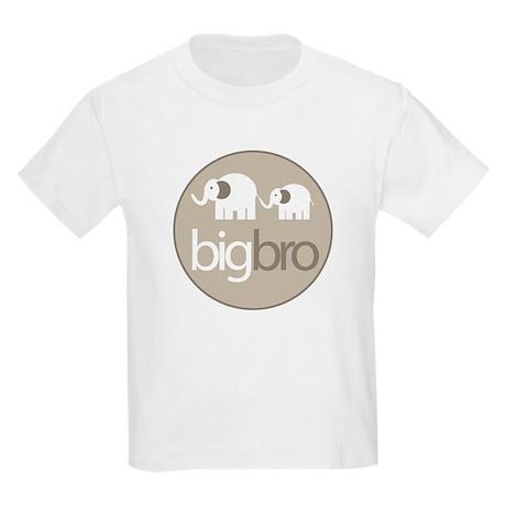 big brother t-shirt big and little elephant Kids L