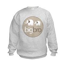big brother t-shirt big and little elephant Sweatshirt