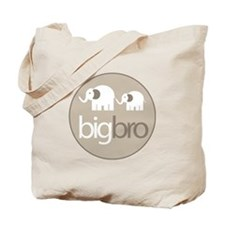 big brother t-shirt big and little elephant Tote B