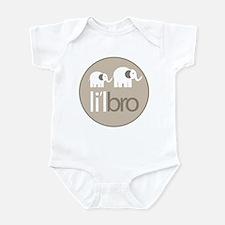 little brother t-shirt elephant Infant Bodysuit