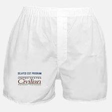 Delayed Exit Program Boxer Shorts