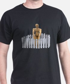 Neighbor at the fence T-Shirt