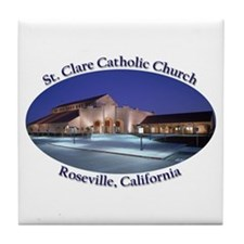 St. Clare Tile Coaster