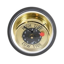 High tide meter Wall Clock