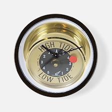 High tide meter Wall Clock