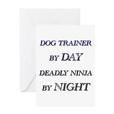 Unique Dog trainer Greeting Card