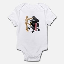 Preparing to barbeque Infant Bodysuit