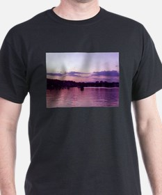 Lake Winnipisaukee at sunset T-Shirt