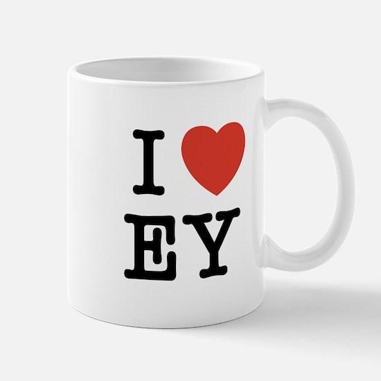I Heart EY Mug