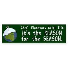 Planetary Tilt Bumper Bumper Sticker