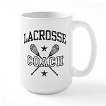 Lacrosse Coach Large Mug