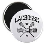 Lacrosse Coach Magnet