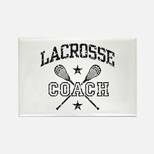 Lacrosse Coach Rectangle Magnet