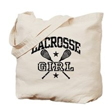 Lacrosse Girl Tote Bag
