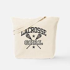 Lacrosse Girl Tote Bag