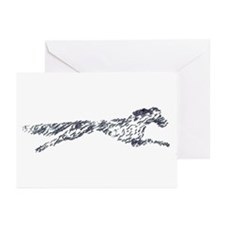 Leaping English Setter Greeting Cards (Pk of 10)