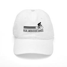 Real Men Ride Bikes Baseball Cap