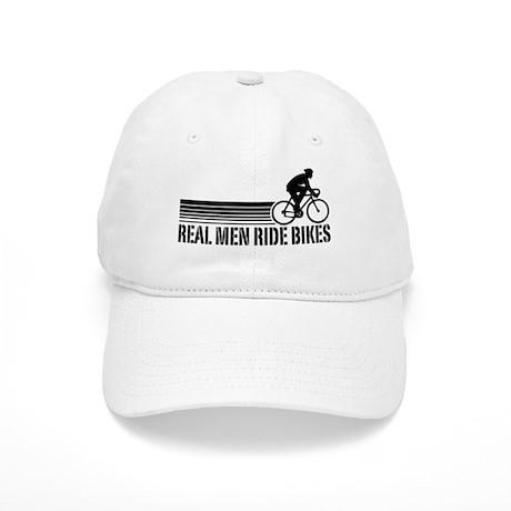 Real Men Ride Bikes Cap