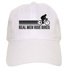Real Men Ride Bikes Hat