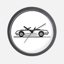 02 05 Ford Thunderbird Convertible Wall Clock