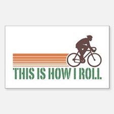 This Is How I Roll (male) Rectangle Bumper Stickers
