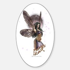 Fairies Rock! Oval Decal