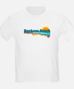 Buckroe Beach VA - Beach Design T-Shirt