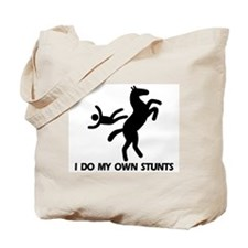 Rearing Horse 'Stunts' Tote Bag