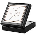 Kiss Line Art Gift Box