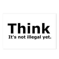 Think it's not illegal yet. Postcards (Package of