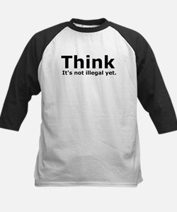 Think it's not illegal yet. Kids Baseball Jersey