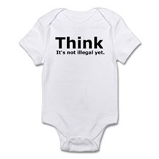 Think it's not illegal yet. Infant Bodysuit
