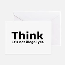 Think it's not illegal yet. Greeting Card