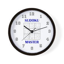 Sudoku Master Wall Clock