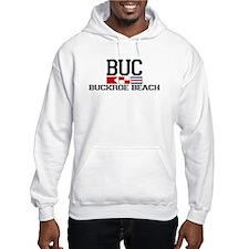 Buckroe Beach VA - Nautical Design Hoodie