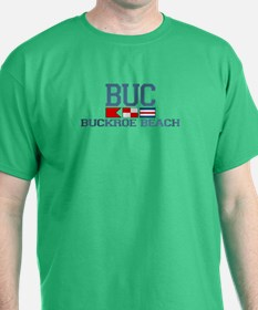 Buckroe Beach VA - Nautical Design T-Shirt