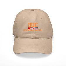 Buckroe Beach VA - Nautical Design Baseball Cap