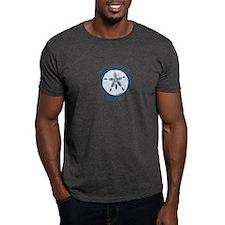 Buckroe Beach VA - Sand Dollar Design T-Shirt
