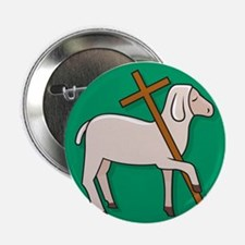 """Lamb of God 2 2.25"""" Button (10 pack)"""