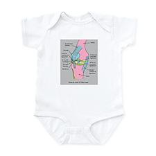 Knee Joint Infant Bodysuit