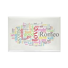 Romeo & Juliet Rectangle Magnet