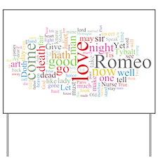 Romeo & Juliet Yard Sign