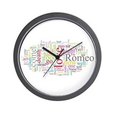 Romeo & Juliet Wall Clock