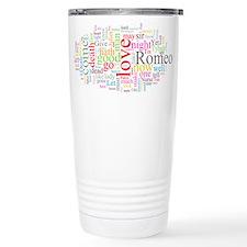 Romeo & Juliet Travel Coffee Mug