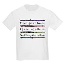 Flute Fairytale Kids Light T-Shirt