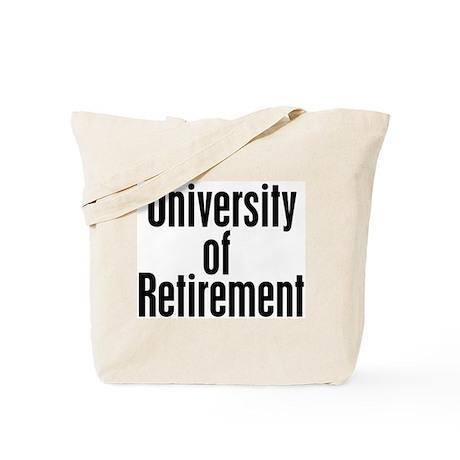 University of Retirement Tote Bag