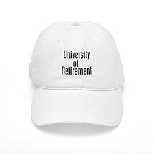 University of Retirement Baseball Cap