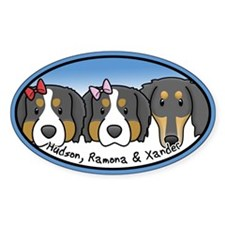 Custom Hudson Ramona Xander Oval Decal